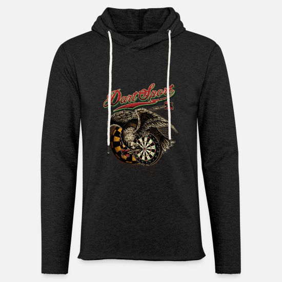 Birthday Hoodies & Sweatshirts - Dart Shirt Eagle V1 - Unisex Sweatshirt Hoodie charcoal grey
