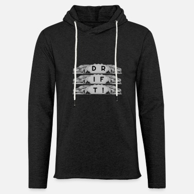 Drifting drift - Light Unisex Sweatshirt Hoodie