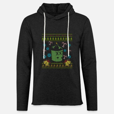 Hillbilly Hillbilly Christmas Ugly Sweater Redneck White - Light Unisex Sweatshirt Hoodie