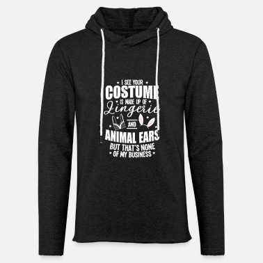 Witch Underwear Halloween Sexy Ears Underwear Costume Gifts - Unisex Sweatshirt Hoodie