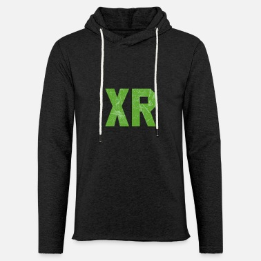 XR Green Rebel - Unisex Kapuzen-Sweatshirt