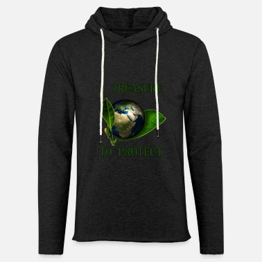 A Treasure to Protect (our Planet) - Unisex Kapuzen-Sweatshirt