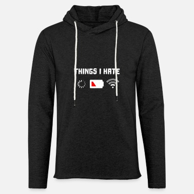 Voodoo Think I fully hate - Unisex Sweatshirt Hoodie
