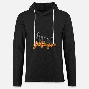 Logotyp Göttingen - My City - City Love - Home - Lätt hoodie unisex