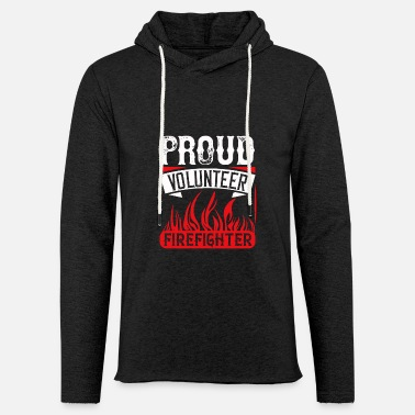Asoue Proud Volunteer Firefighter - Unisex Sweatshirt Hoodie