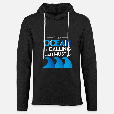 Saliboat Sailing sailing boat captain sailboat ship anchor - Unisex Sweatshirt Hoodie