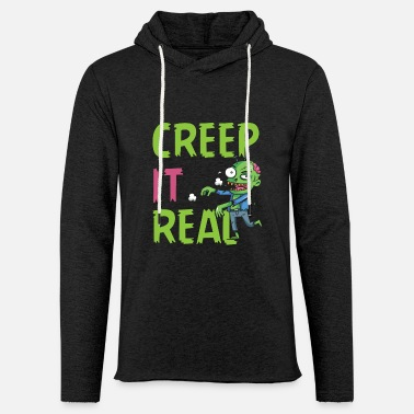 Monster Creep It Real - Untotes Monster Girn aus Kopf Gift - Unisex Kapuzen-Sweatshirt