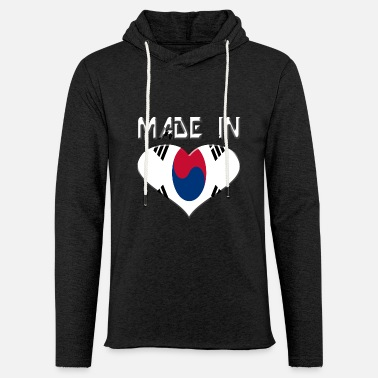Korean Korean Republic - Light Unisex Sweatshirt Hoodie