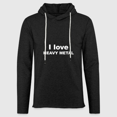 Heavy Metal Heavy Metal Heavy Metal Metal Gave - Let sweatshirt med hætte, unisex