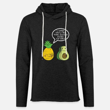 Lacrosse pineapple avocado - Light Unisex Sweatshirt Hoodie