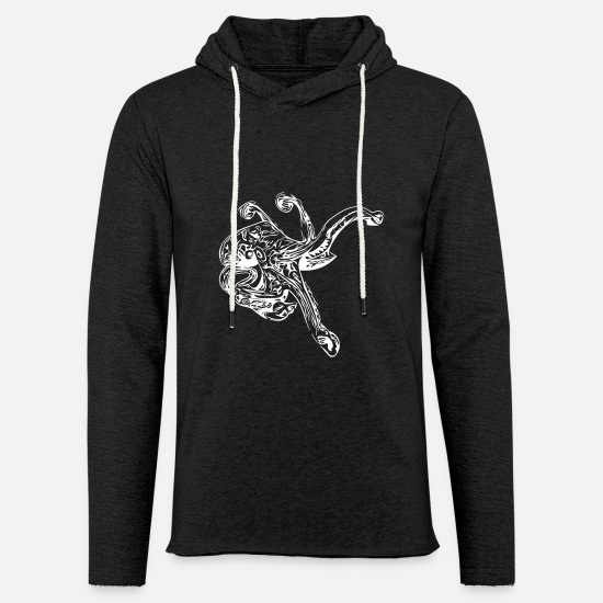 Reef Hoodies & Sweatshirts - Octopus Octopus octopus squid - Unisex Sweatshirt Hoodie charcoal grey