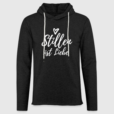 Breastfeeding is love - Light Unisex Sweatshirt Hoodie