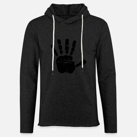 This Guy Needs A Beer Hoodies & Sweatshirts - hand scherenschitt - Unisex Sweatshirt Hoodie charcoal grey
