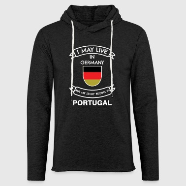 Portuguese in Germany - Light Unisex Sweatshirt Hoodie