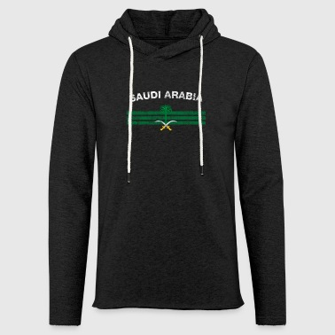 Arabia Saudi or Saudi Arabian Flag Shirt - Saudi or Saudi - Light Unisex Sweatshirt Hoodie