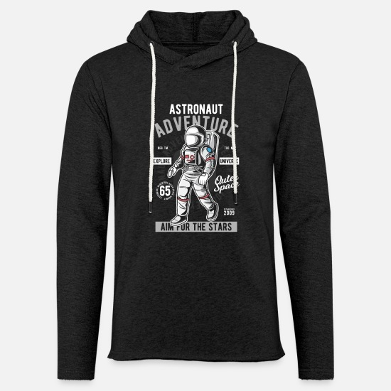 Space Sweaters & hoodies - Astronaut adventure space-raket - Unisex sweatshirt hoodie houtskool