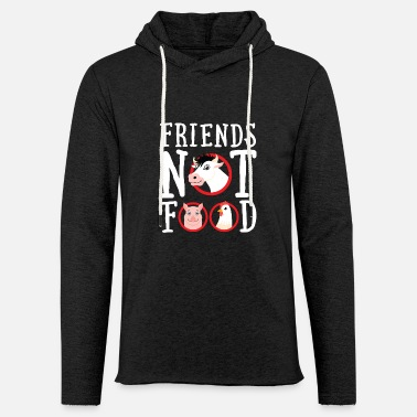 Food Friends Not Food | Vegan Statement - Unisex Sweatshirt Hoodie