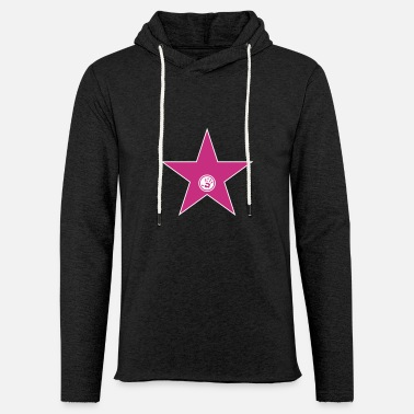 Hollywood walk of fame + your name - Unisex Kapuzen-Sweatshirt