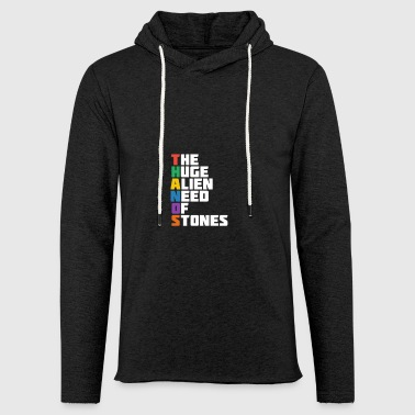 the huge alien - Light Unisex Sweatshirt Hoodie