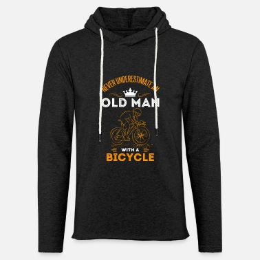 Cyclist Gift Old Man Road Bike Bicycle Opa Opi - Light Unisex Sweatshirt Hoodie