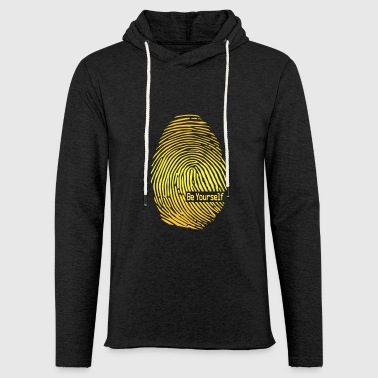 Fingerprint fingerprint - Light Unisex Sweatshirt Hoodie
