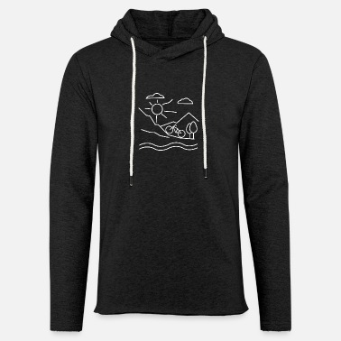 Extreme Sports Mountain Bike Cycling Downhill Extreme Sports - Light Unisex Sweatshirt Hoodie
