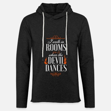 devil flames fire hell home at home bar - Unisex Sweatshirt Hoodie