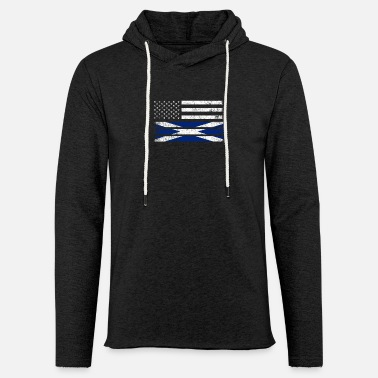Scotland Scottish American Flag - United States Scotland Shirt - Unisex Sweatshirt Hoodie