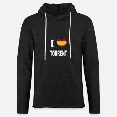 Torrent I Love Spain TORRENT - Unisex Kapuzen-Sweatshirt