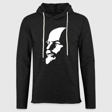 Portrait of Communist Lenin - Light Unisex Sweatshirt Hoodie