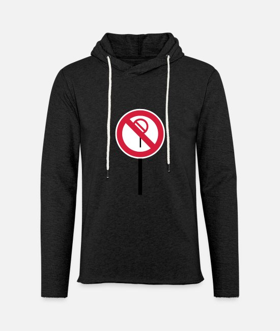 "Red Hoodies & Sweatshirts - Sign ""Prohibitions prohibited"" - Unisex Sweatshirt Hoodie charcoal grey"