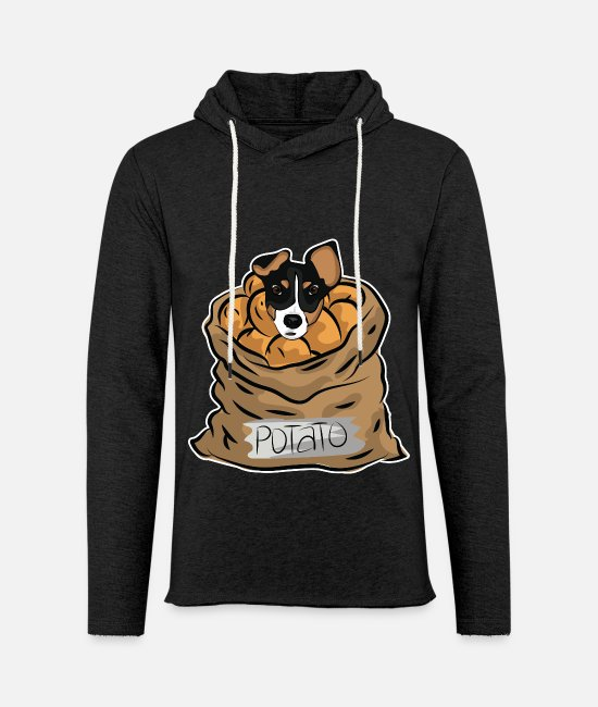 Easter Hoodies & Sweatshirts - Dog potato - Unisex Sweatshirt Hoodie charcoal grey