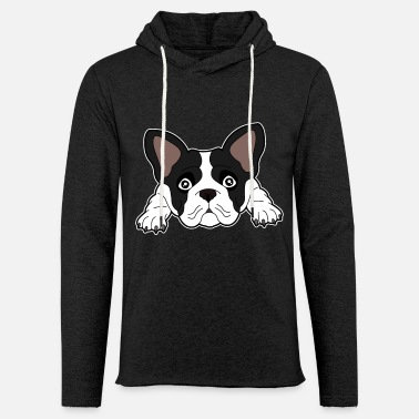 Boston Terrier - Oreilles de chien Dark Design Sweet - Sweat à capuche léger unisexe