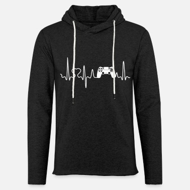 Video Gaming Heartbeat video game - Unisex Sweatshirt Hoodie