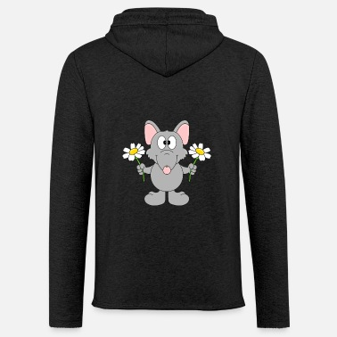 Fashion Funny Rat - Flowers - Gift - Animal - Fun - Unisex Sweatshirt Hoodie