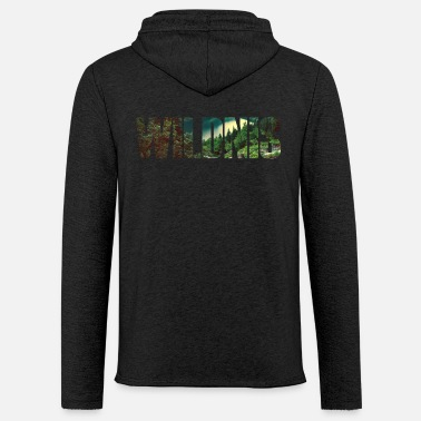 Wilderness wilderness - Light Unisex Sweatshirt Hoodie