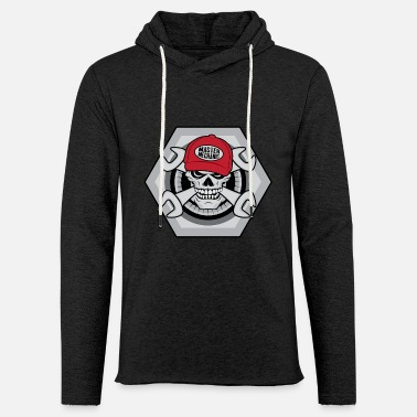Mechanic Skull - Light Unisex Sweatshirt Hoodie