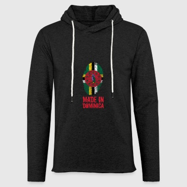 Made In Dominica Caribbean - Light Unisex Sweatshirt Hoodie