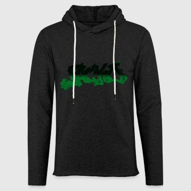 Street style Black / Green - Light Unisex Sweatshirt Hoodie
