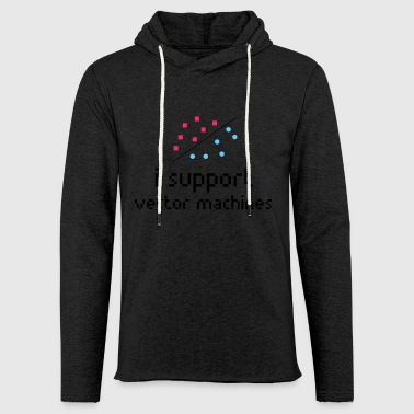 Machine learning, Support Vector Machine - Lichte hoodie unisex