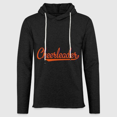 2541614 15319618 cheerleader - Let sweatshirt med hætte, unisex