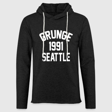 Seattle Grunge 1991 - Sweat-shirt à capuche léger unisexe