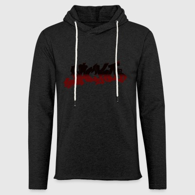 Street style Black / Red - Light Unisex Sweatshirt Hoodie