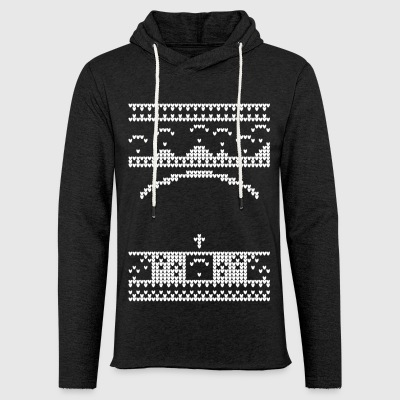 Paragliding Christmas Jumper - Light Unisex Sweatshirt Hoodie
