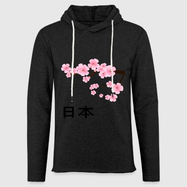 Asia Japanese Cherry Blossoms Japan Botany Cherry - Light Unisex Sweatshirt Hoodie