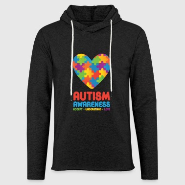 Autism Awareness - Light Unisex Sweatshirt Hoodie