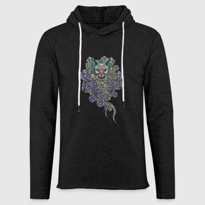 Bastet on the field - Light Unisex Sweatshirt Hoodie