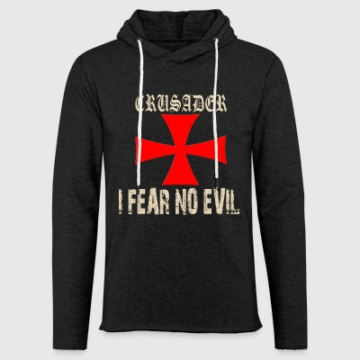 Crusader Knights Templar Cross Motif - Light Unisex Sweatshirt Hoodie