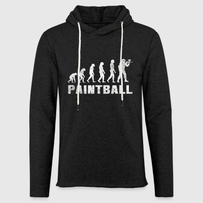 Evolution Paintball 2,0 - Paintball T-shirt - Let sweatshirt med hætte, unisex