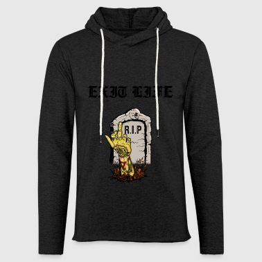 Ténébreuse Ink - The Grave - Sweat-shirt à capuche léger unisexe